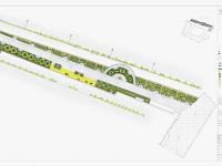 projekt zieleni Zamek Szczecin