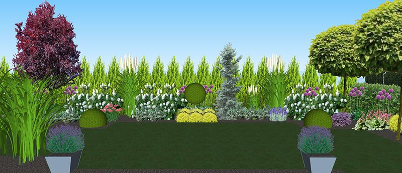 projekt ogrodu Wołczkowo