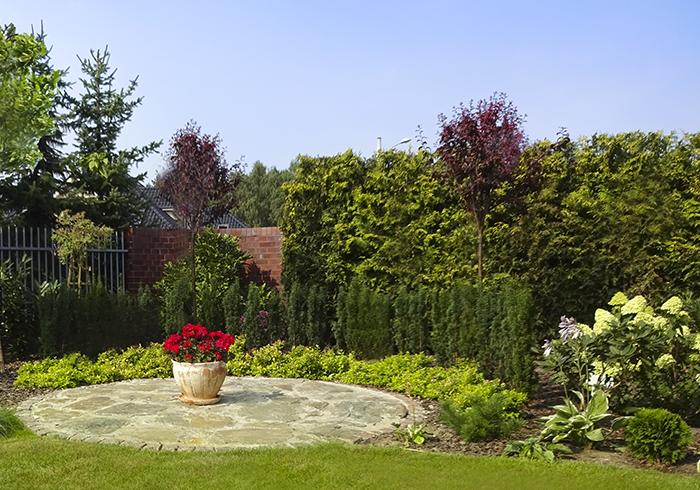 realizacja ogrodu przydomowego
