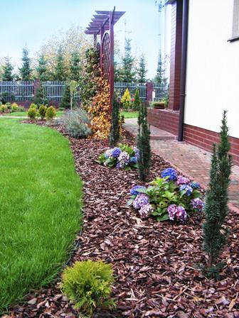 Realizacja projektu ogrodu przydomowego